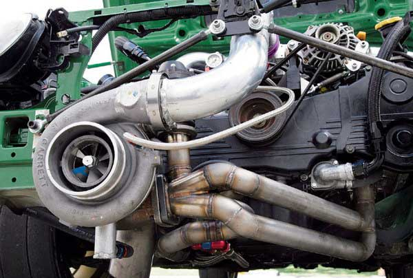 Дизельный двигатель турбина
